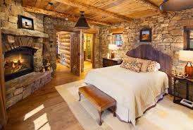 Rustic Vintage Bedroom - rustic chic bedroom small lamps desk the bedside brown vintage