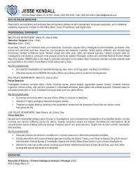 law enforcement resume examples officer resume resume example