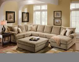 ottoman ideas for living room u shaped couch with ottoman ideas cape atlantic decor u shaped