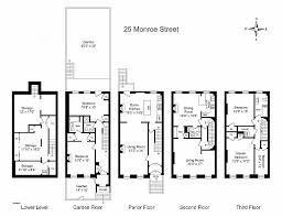 brownstone floor plans new york city new york brownstone floor plans beautiful brownstones multi level