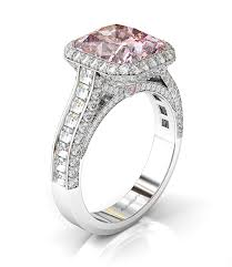 light pink engagement rings pink engagement rings from bez ambar