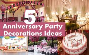 60th anniversary decorations top five anniversary party decorations ideas for anniversary