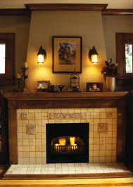 pictures of fireplace mantels wood tile surrounds image design