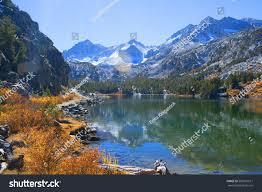 sierra mountains lake fall colors stock photo 509597611 shutterstock