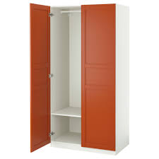 ikea closets wardrobes pax system ikea wardrobe white flisberget red brown