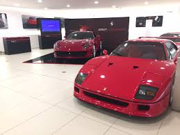 ferrari dealership ferrari u0027maranello u0027 dealership egham 2017 amalgam collection