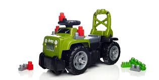 green jeep mega bloks 3 in 1 jeep ride on green building sets amazon canada