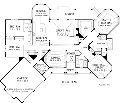 Foyer Plans House Plan The Giverny Court By Donald A Gardner Architects