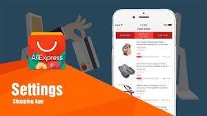 aliexpress shopping app settings youtube