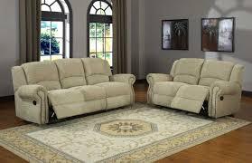 Reclining Living Room Set Homelegance Quinn Reclining Sofa Set Olive Beige Chenille