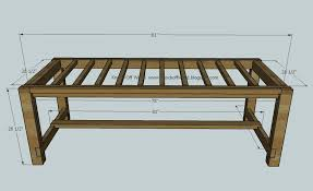 Plans For Building A Wood Coffee Table by Ana White Farmhouse Table Diy Projects