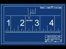 how to read an inch ruler or tape measure youtube