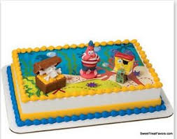 sponge bob cake spongebob cake birthday party decoration favors