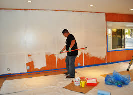 How To Paint Over Wood Paneling by Whitewash Wood Paneling Makeover Before And After Best House Design
