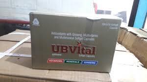 Ub Ginseng amoxycillin syrup antioxident multi vitamin ub vital manufacturer