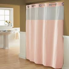 Shower Curtain With Pockets Buy Hookless Shower Curtains From Bed Bath U0026 Beyond