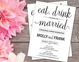 eat drink and be married invitations rehearsal dinner invitations eat drink be married