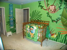deco chambre jungle idées décoration intérieure