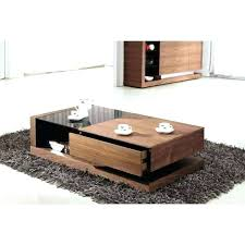 glass top coffee table with storage sliding top coffee table vintage sliding glass top coffee table