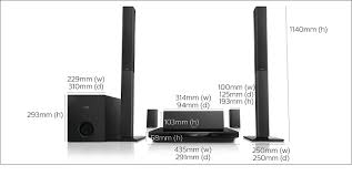 d home theater system 5 1 home theatre htb3550g 12 philips