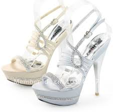 cheap silver wedding shoes shoezy womens silver and chagne gold strappy diamante platform