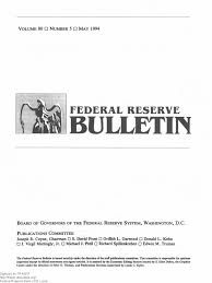 frb 051994 current account federal reserve system