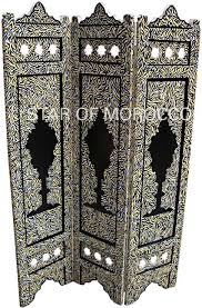 Moroccan Room Divider Painted Moroccan Dividers