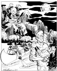 the cleansed simon adams artist illustrator