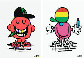 modern men characters austin retro