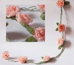 bridal garland wedding garland paper wedding garland paper flower garland