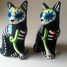 Halloween Decoration Skeleton Cat by Best Dia De Los Muertos Skeletons Products On Wanelo