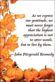thanksgiving quotes like success