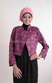 blazer wanita muslimah modern ッ 20 model blazer batik wanita muslimah dian pelangi modern cantik