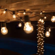 Clear Patio Lights 54 Commercial Patio String With 24 A15 Clear Outdoor Patio Lights