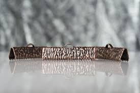 copper ribbon 25mm 1 mixed finish ribbon cls 20pcs artisan series