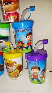 sweet treat cups wholesale 6 paw patrol party cups stickers birthday sipper with lids favor