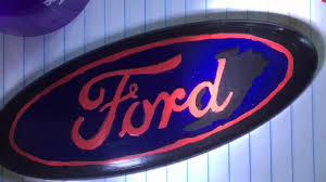 ford logo painting a ford logo youtube