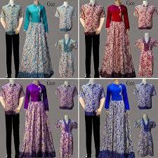 Baju Batik Batik model baju batik pesta keluarga yang tren dan model baju batik