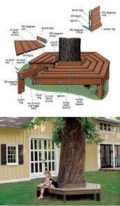 Circular Bench Around Tree Best 25 Tree Bench Ideas On Pinterest Tree Seat Yard Benches