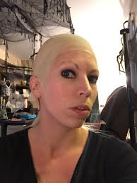 spirit halloween bald cap looking for a diy scary halloween makeup idea be smiley