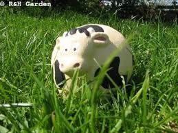 cow garden ornament free p p co uk garden outdoors