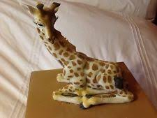 ornaments figurines ceramic pottery giraffe collectables ebay