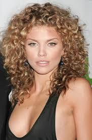 medium length layered curly hairstyles women medium haircut
