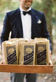 popcorn wedding favors edible wedding favors ideas brides