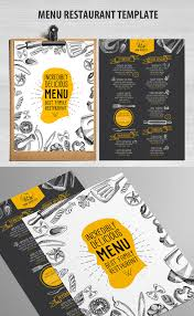 editable menu templates 27 restaurant menu templates with creative designs