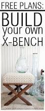 Free Indoor Wooden Bench Plans by Best 25 X Bench Ideas On Pinterest Bench Plans Diy Bench And
