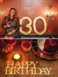 30th Birthday Dinner Ideas 22 Best Decor 30th Birthday Images On Pinterest Birthday Party
