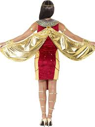 Ladies Egyptian Goddess Costume Queen Halloween Fancy Dress Egypt