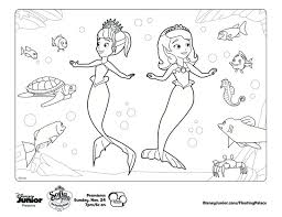 10 sofia mermaid coloring pages uncategorized printable
