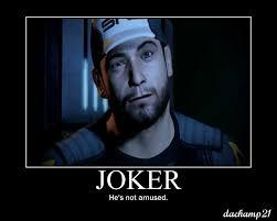 Funny Mass Effect Memes - mass effect poster joker by dach21x on deviantart
